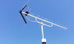UHFアンテナ新規工事