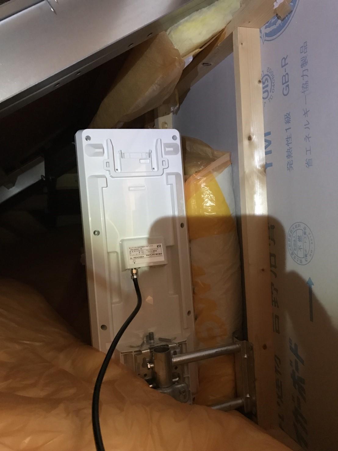 東京都 国分寺市 デザインアンテナ 屋根裏設置 室内設置 アンテナ工事