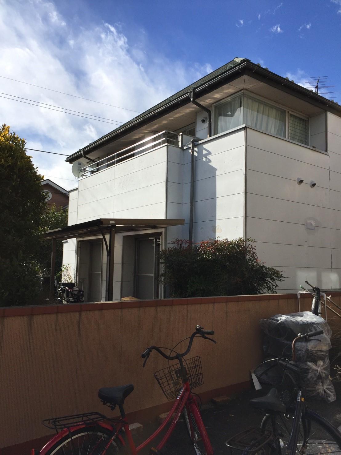 東京都 稲城市 デザインアンテナ BS/CSアンテナ アンテナ工事