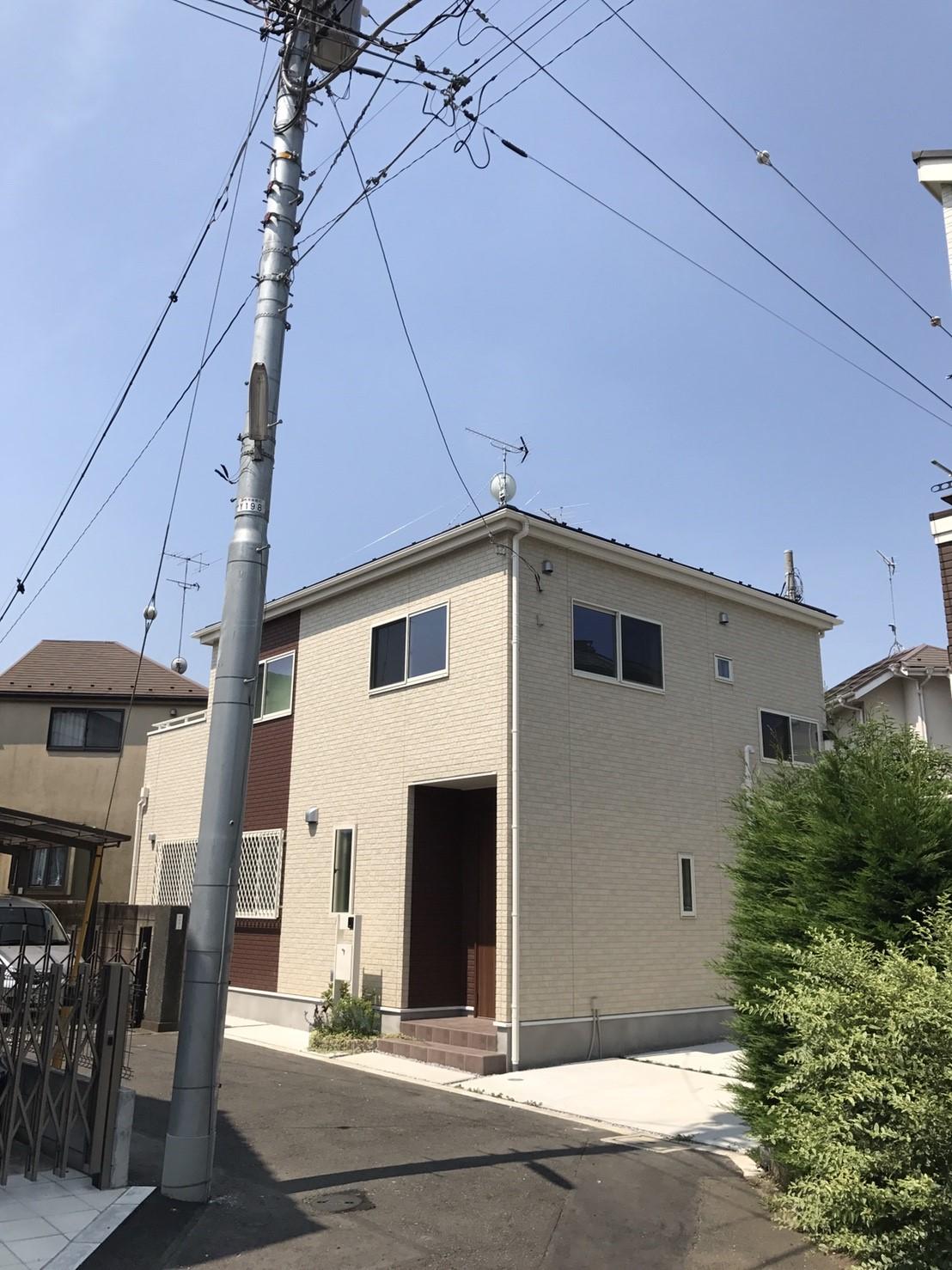 東京都 調布市 八木式アンテナ BS/CSアンテナ 新築 アンテナ工事