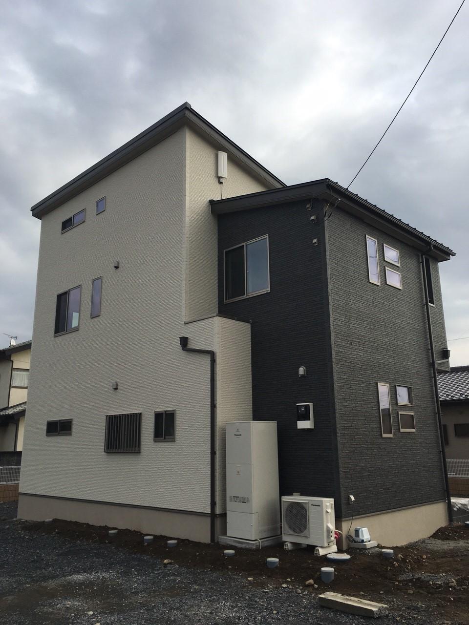 群馬県太田市のデザインアンテナ工事事例