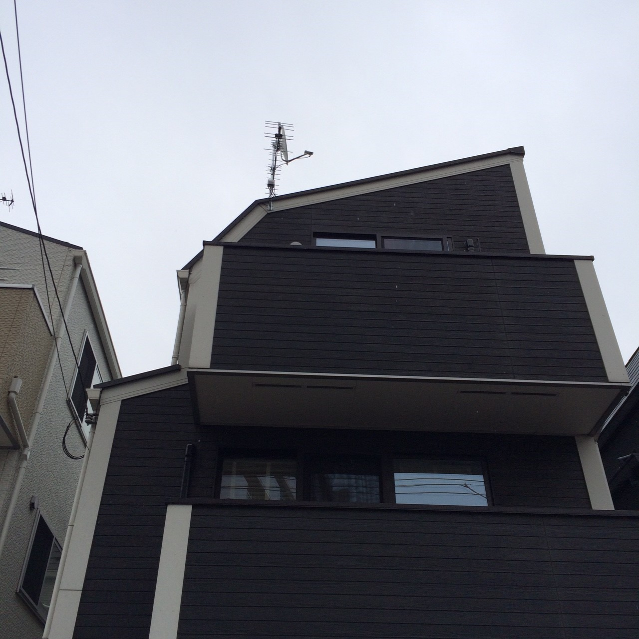 東京都北区の八木式アンテナ、BS・CSアンテナ工事事例