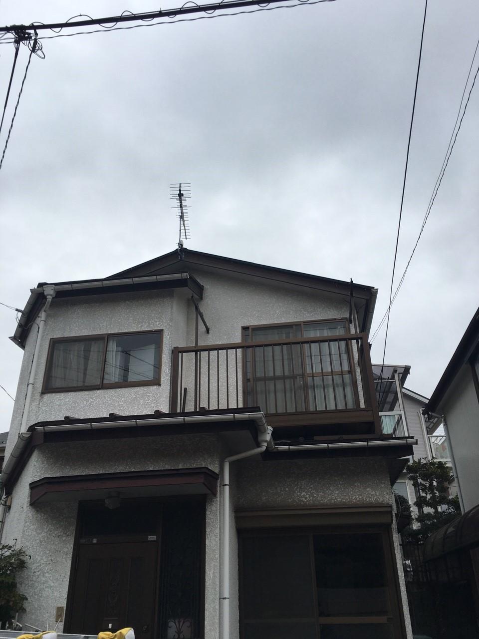 神奈川県川崎市の八木式アンテナ工事事例