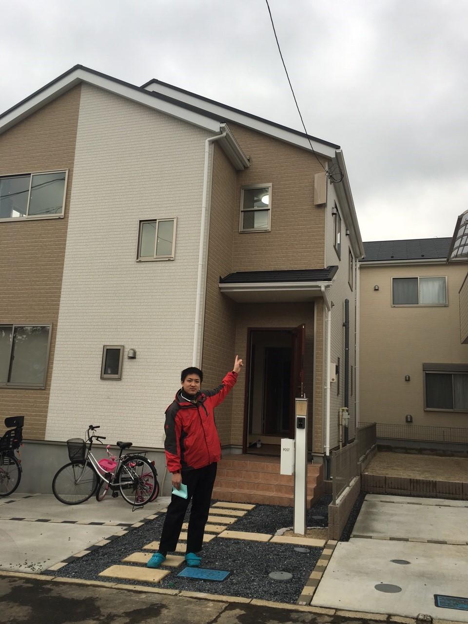 埼玉県さいたま市のデザインアンテナ工事事例