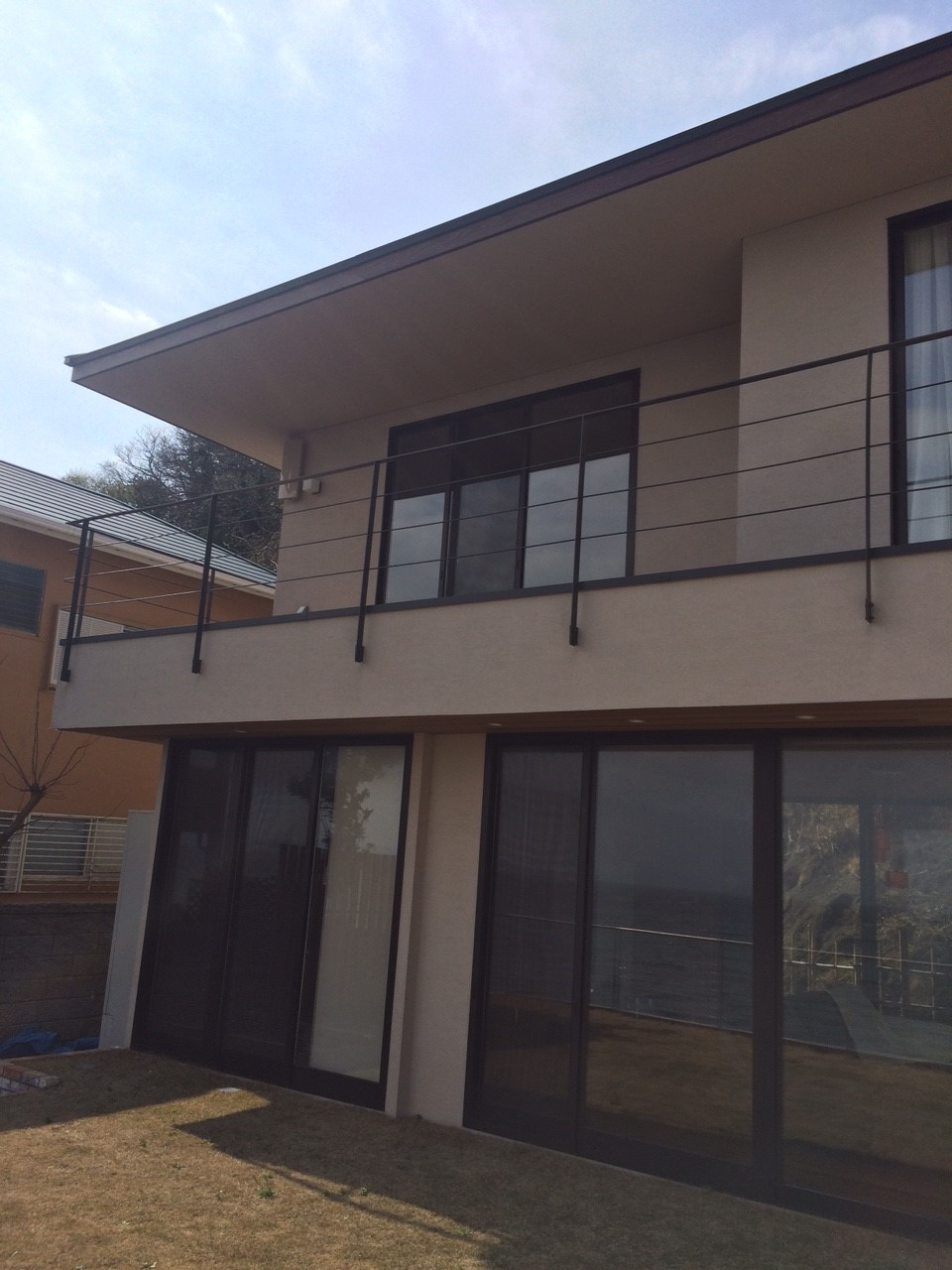 神奈川県三浦市のデザインアンテナ工事事例