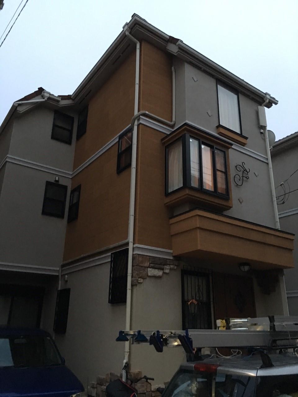 東京都西東京市のデザインアンテナ、BS・CSアンテナ工事事例