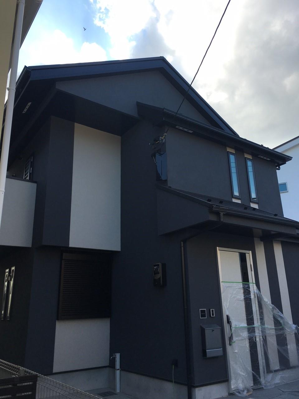 神奈川県横浜市のデザインアンテナ工事事例