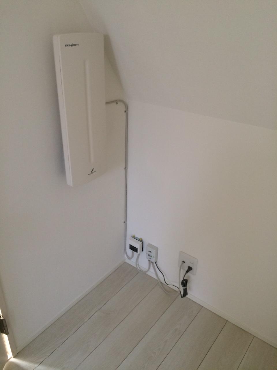 東京都大田区の室内設置デザインアンテナ工事事例