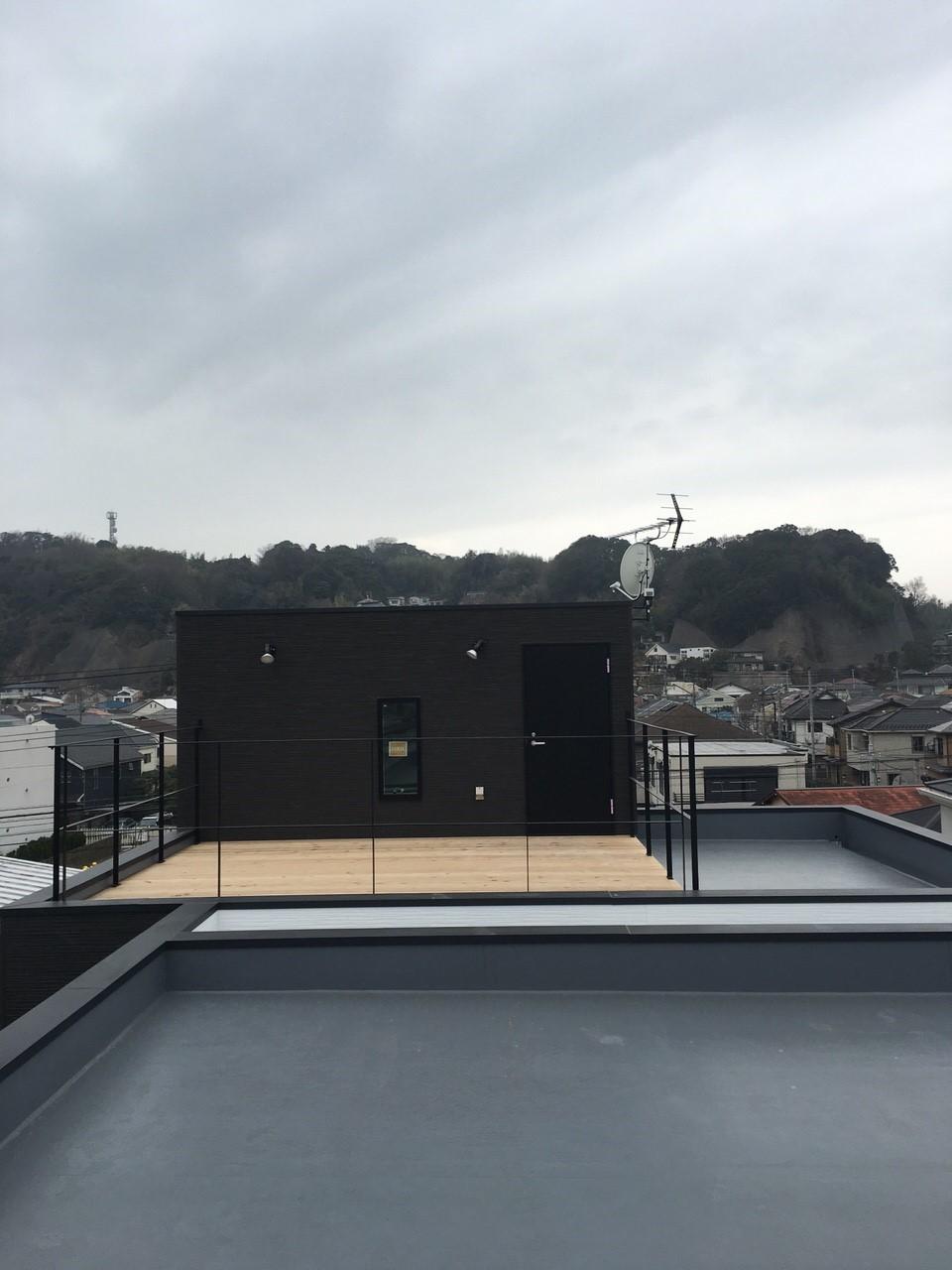 神奈川県逗子市の八木式アンテナ、BS・CSアンテナ工事事例