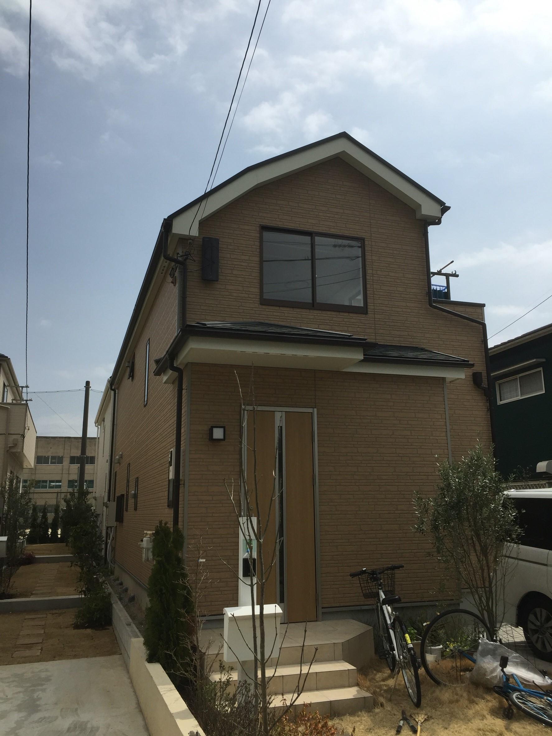 千葉県松戸市のデザインアンテナ工事事例