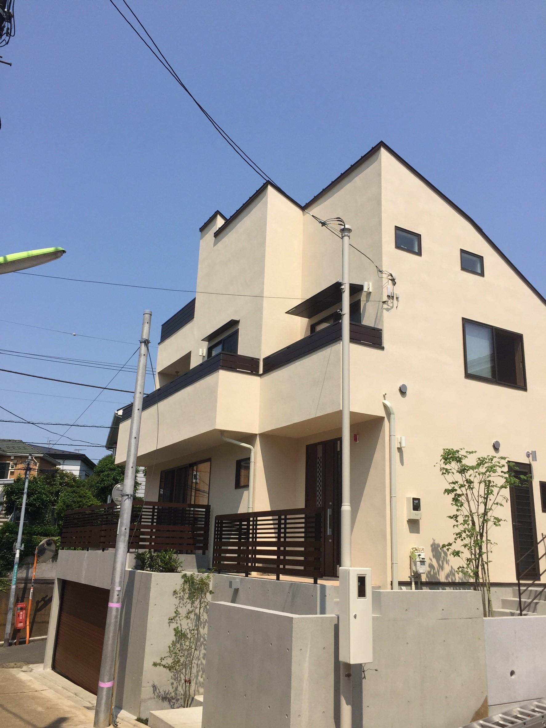 東京都世田谷区の八木式アンテナ工事事例