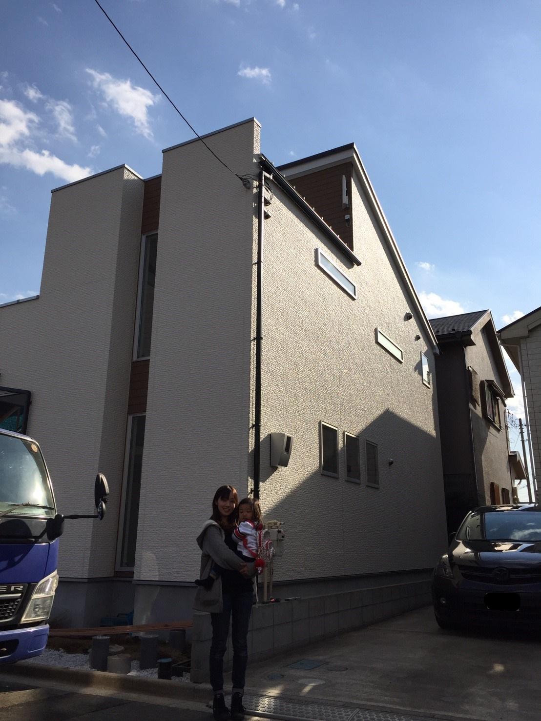 埼玉県 三芳町 デザインアンテナ アンテナ工事