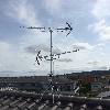 大阪府交野市 八木式アンテナ UHF+UHF混合