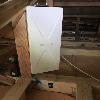東京都立川市 デザインアンテナ 屋根裏設置工事