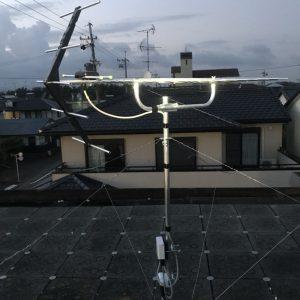 静岡県浜松市 アンテナ修理 立て直し