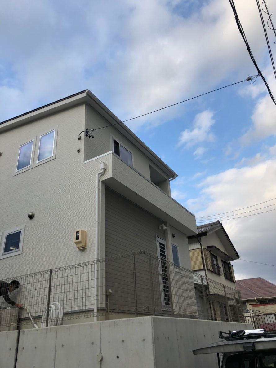 愛知県 豊明市 デザインアンテナ設置工事