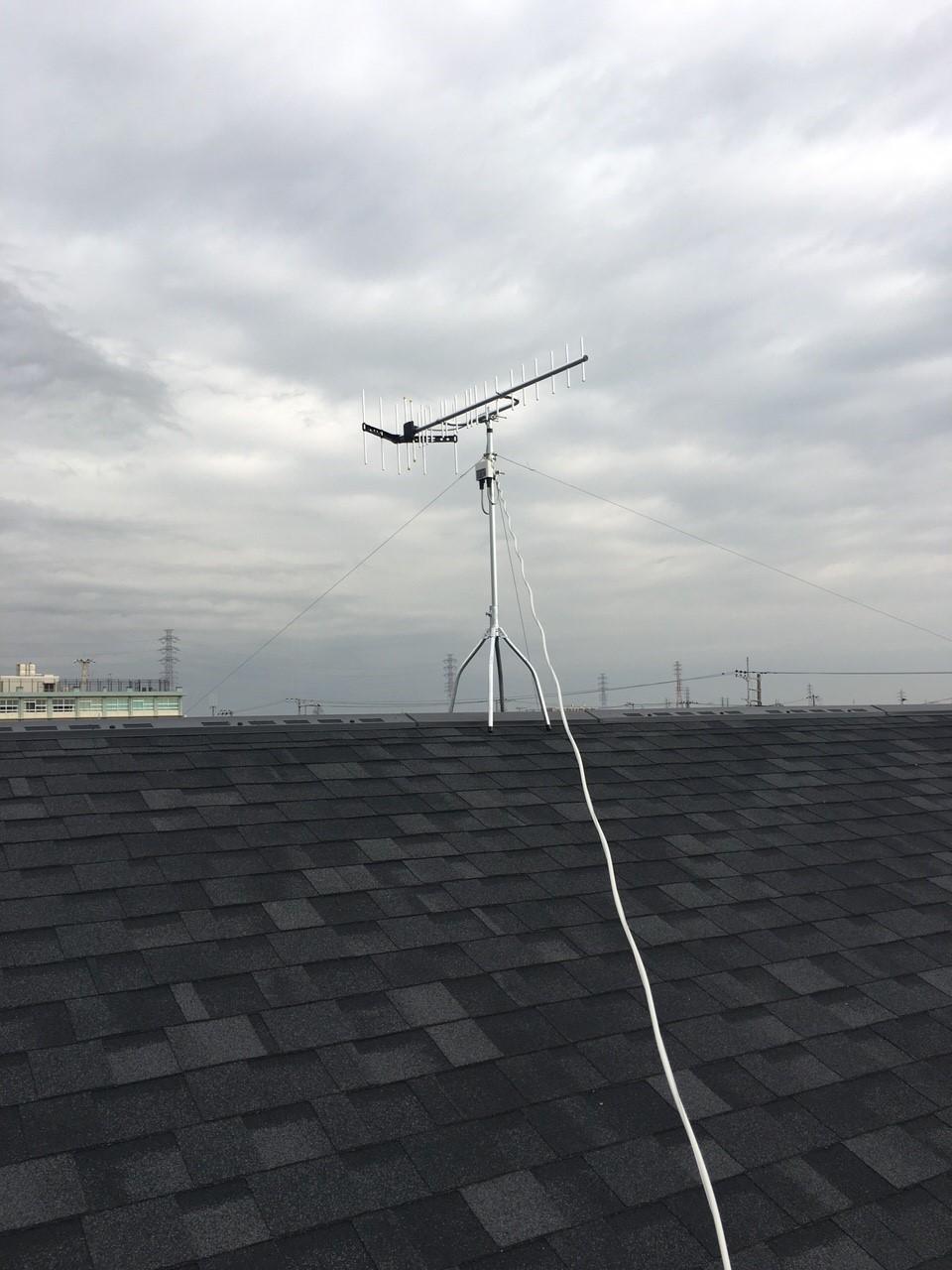 神奈川県平塚市の八木式アンテナ工事事例